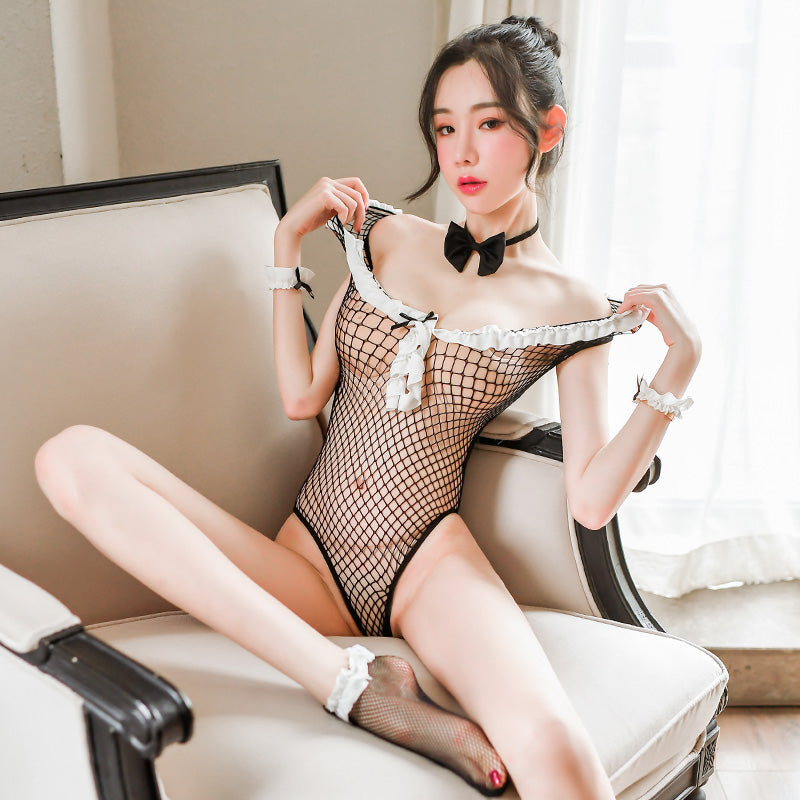 Kawaii Japanese Anime Sexy rabbit girl Lingerie Set