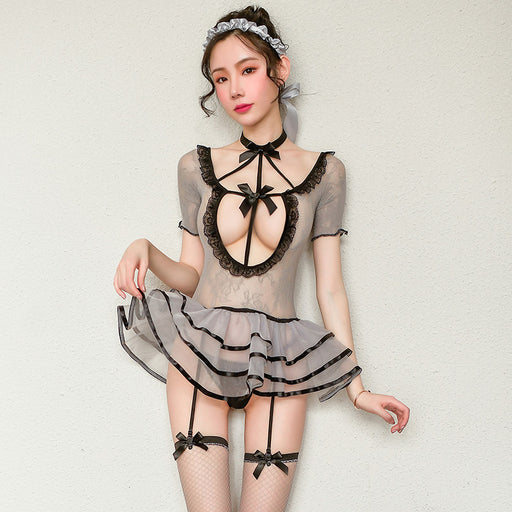 Anime Ruffle Sexy arrogant fluffy princess cake skirt ballet similar net suit