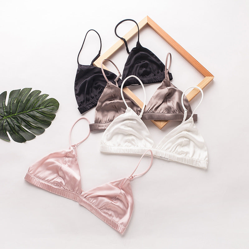 Sweetie Silk Cute Comfy Soft Cup Bralette