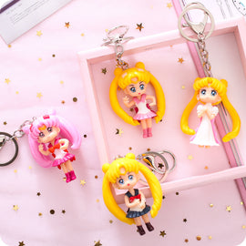 Sailor Moon Keychain Doll