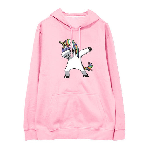 Unicorn Kawaii Aesthetic You Need Pink Animal Oversized Hoodie