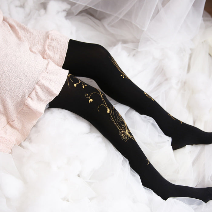 Kawaii Tumblr Lolita Cutie Animal Fleece Thigh High Long Socks