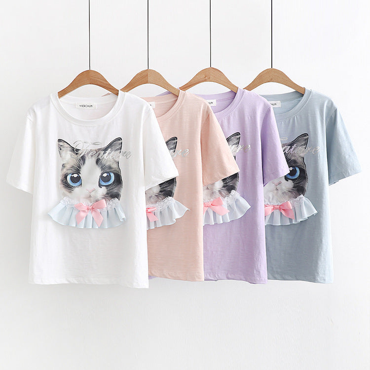 Happy Cat T-Shirt
