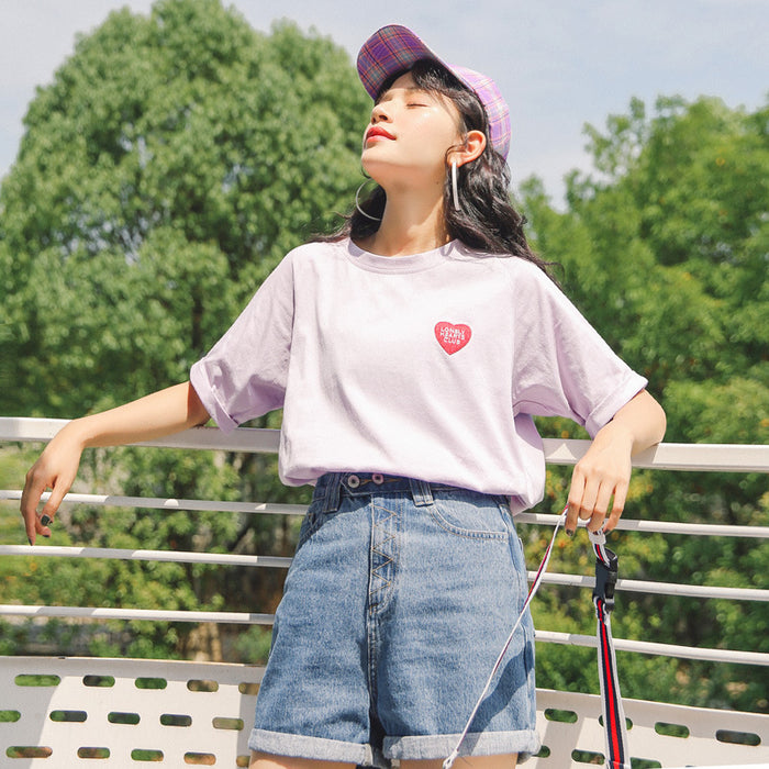Kawaii Sweet Heart Pastel T-Shirt