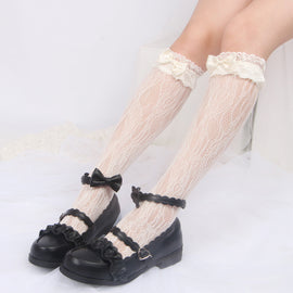 Lolita Amine Girly Kawaii Hello Kitty Cat Cosplay Tights