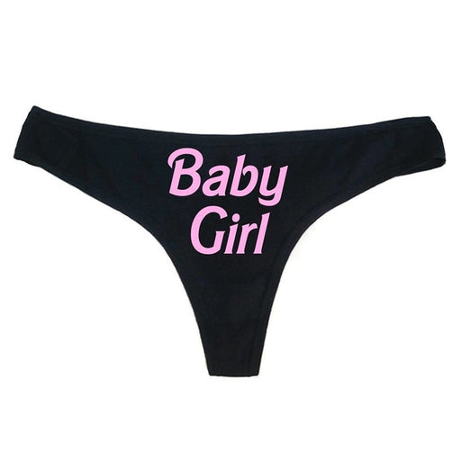 Baby Girl Yes Daddy Panties