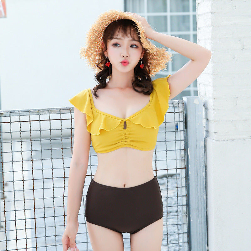 Sunny Holiday Cute Sweet Swimsuit Set