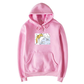 Sailor Moon Unicorn Kawaii Aesthetic You Need Pink Animal Oversized Hoodie