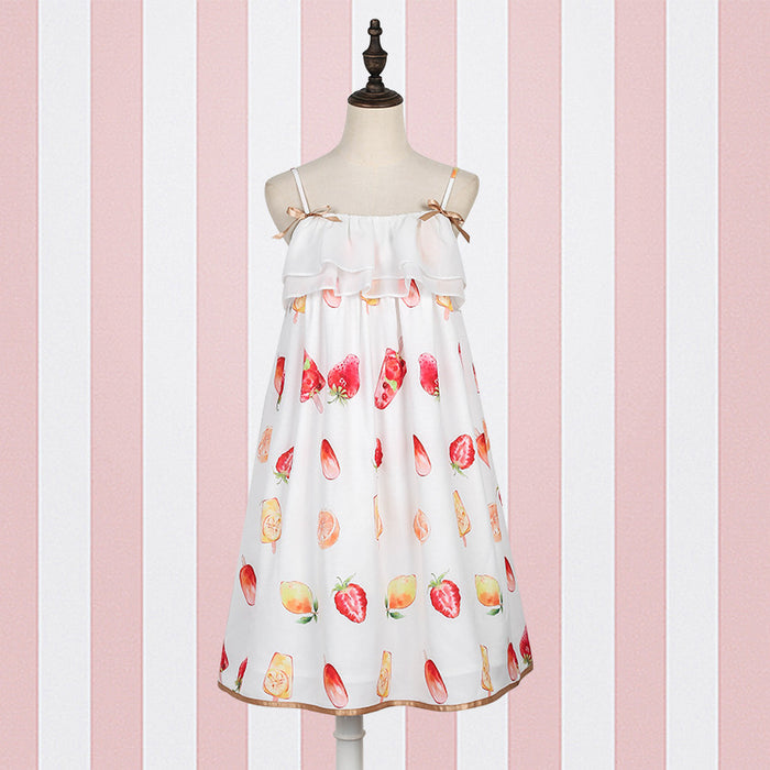Lolita Strawberry Dress