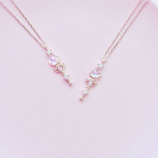 Kawaii Love Sailor Moon Diamond Necklace