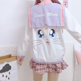Sailor Moon Aeathetic Kawaii Cute Hoodie