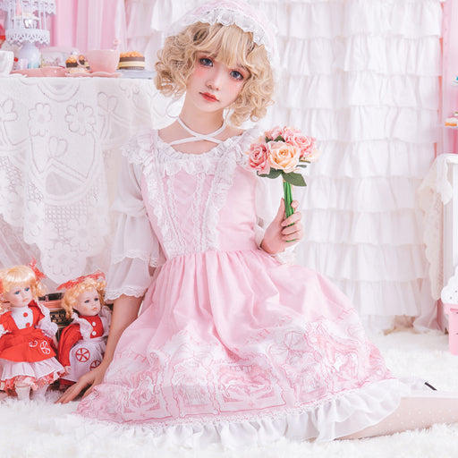 Lost In The Pink Decora Prince Kawaii Lolita Mori Dress