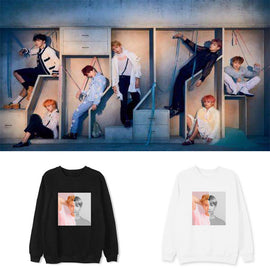 BTS K-pop Aesthetic Mockneck Sweatshirt