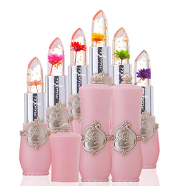 Flower Jelly Transparent Color-Changing Lipstick