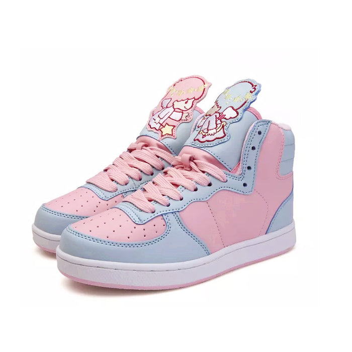 Pastel School Girl Anime Kawaii Japanese Harajuku Sneaker