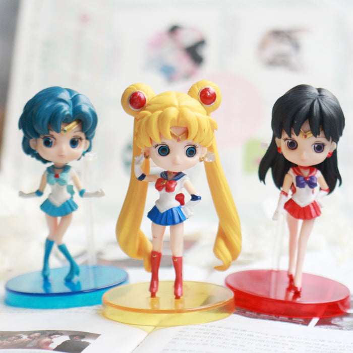 Happy Birthday Sailor Moon Doll Set