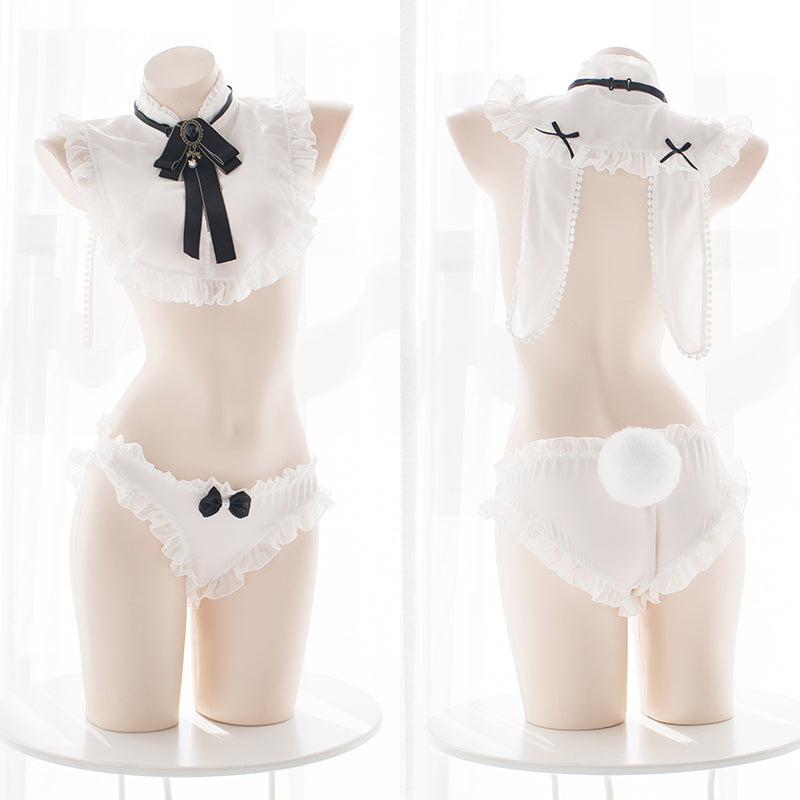 Anime Bunny Ear Kawaii Sexy Lingerie Set