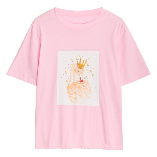 Hello Dear Deer Crown Aesthetic Tee