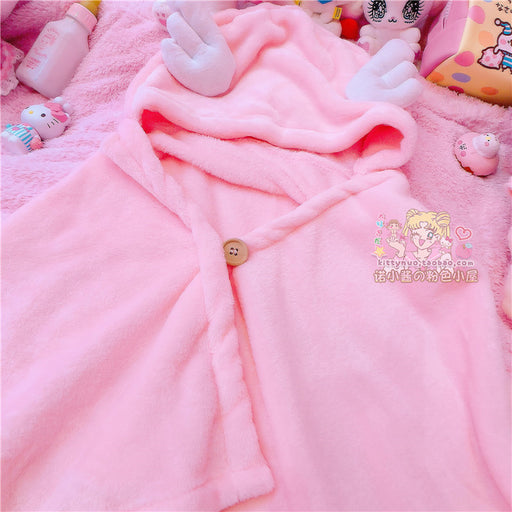 Sakura Japanese Candy Color Pastel Kawaii Cloak