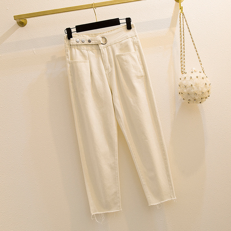 Korean casual trousers