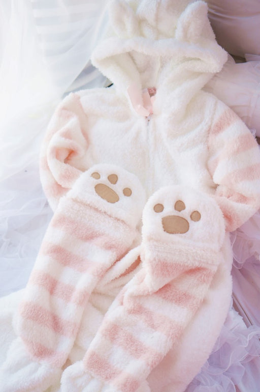 Kawaii Pastel Cat Animal Onesie