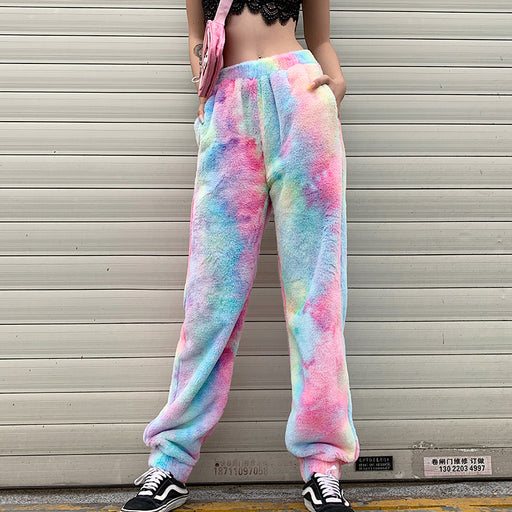 Aesthetic Kawaii Pastel Furry Pant