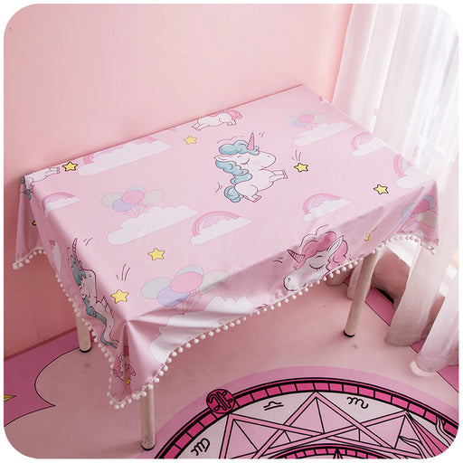 Unicorn Japanese Candy Color Pastel Kawaii Desk Cover