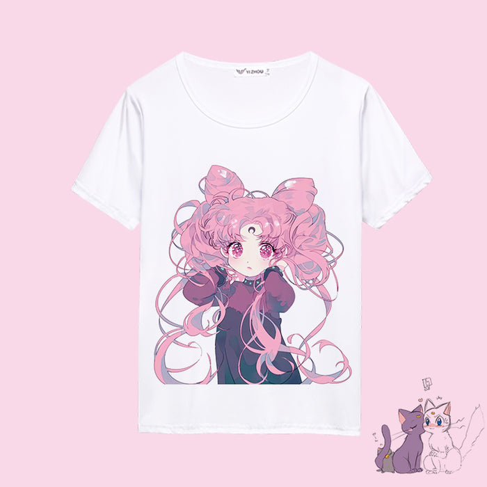 Sailor Moon Kawaii Anime Tee