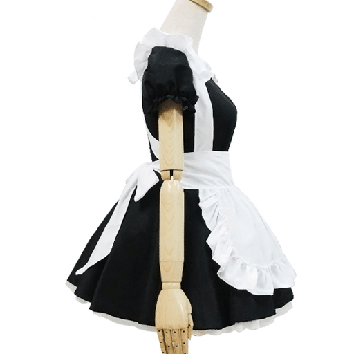 Kawaii Cat Neko Astume Kitty Keyhole Hollow Out Maid Dress