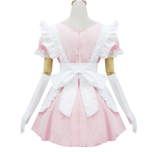 Pink Kawaii Japanese Maid Dress