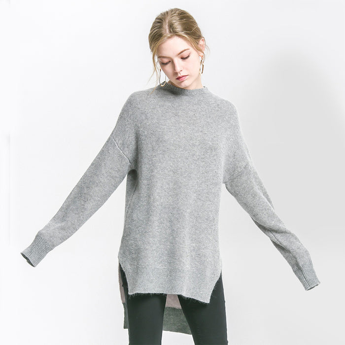 High Low Spilt Jumper