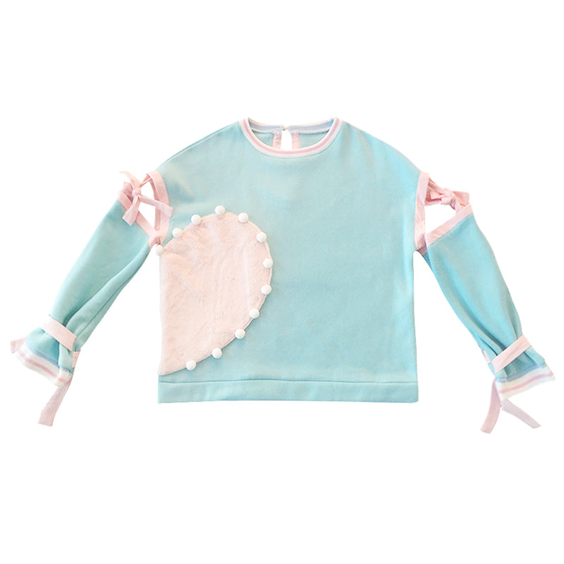 Pastel Kawaii Aesthetic Poppy Slide Oversized Bunny Hoodie