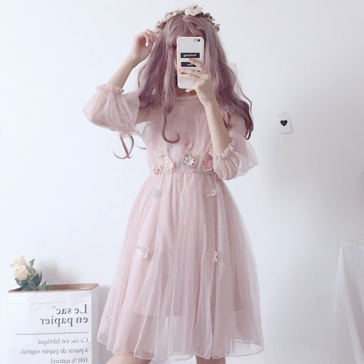 White Prince Kawaii Lolita Mori Dress