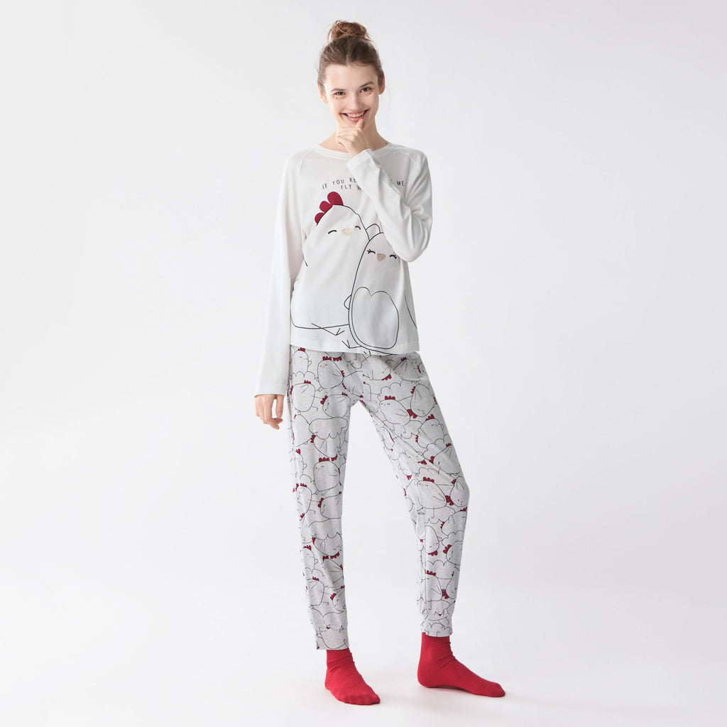 Cozy Sleep T-Shirt And Pant Pajama Set
