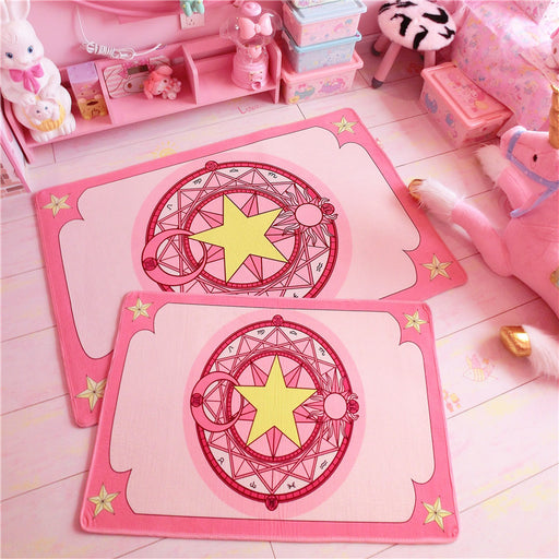 Sakura Japanese Candy Color Pastel Kawaii Ground Mat