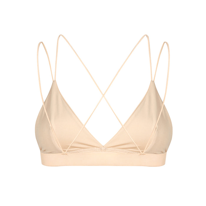 Satin Strappy Bralette