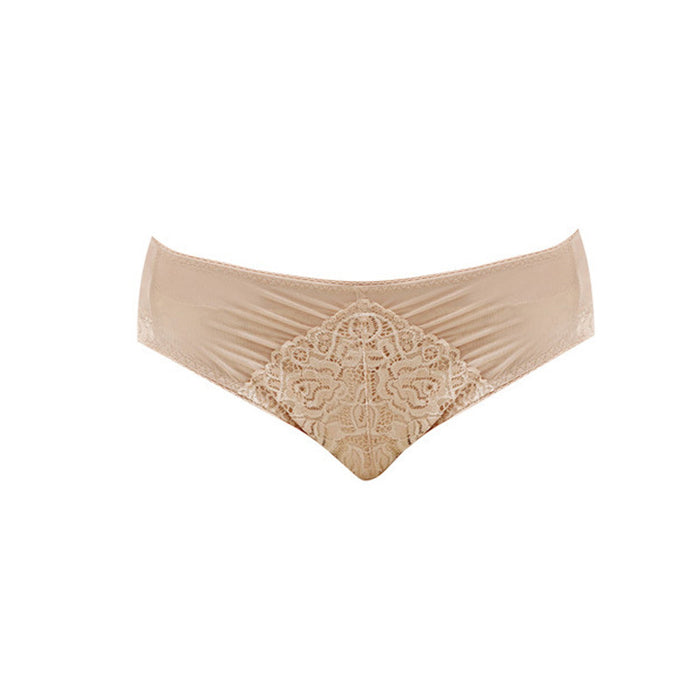 Lace High Leg Panty - sofyee