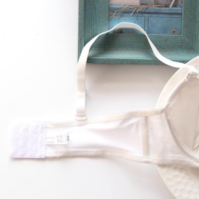 All White Bridal Like Candy Color Floral Japanese Cute Sweet Bras And Panty Set