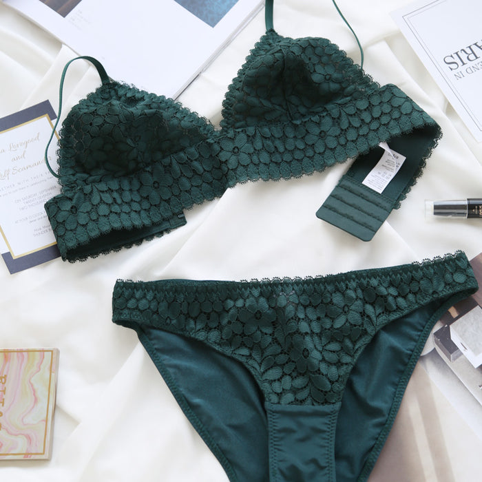 Sweet A Road To Lover Lacy Bralette Set