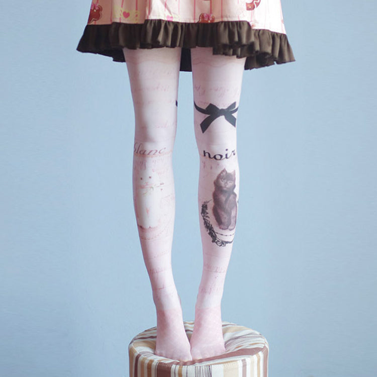 Japanese Lolita Bunny Thigh High Tights