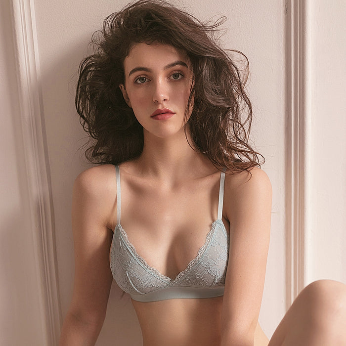 Just Comfy Inky Blue Bralette