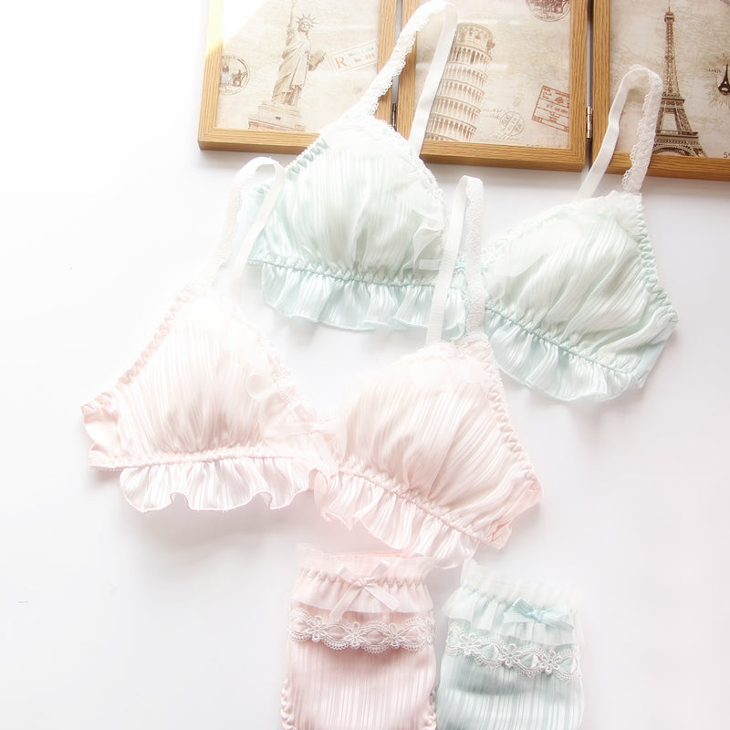 Lolita Kawaii Sweetie Cute Sweetie Bralette Set
