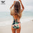Hello Summer Printed Strappy One Piece Swimwear