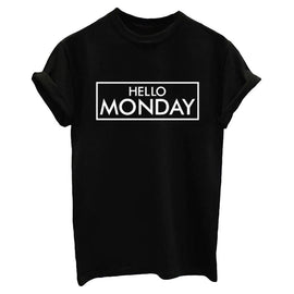 Hello Monday Casual T Shirts