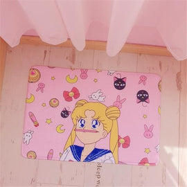 Kawaii Sailor Moon Plush Rug