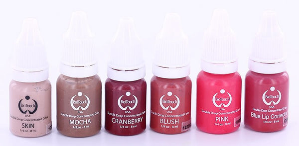 Natural Lip Shades from Biotouch