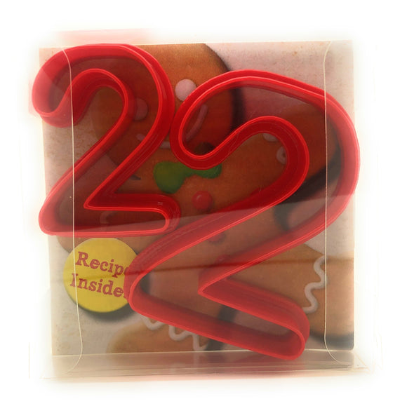Two Digit Shaped Cookie Cutter Set of 2