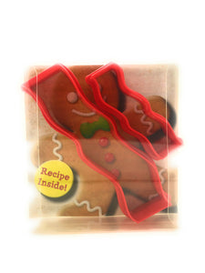 Bacon Rasher Cookie Cutter Set of 2