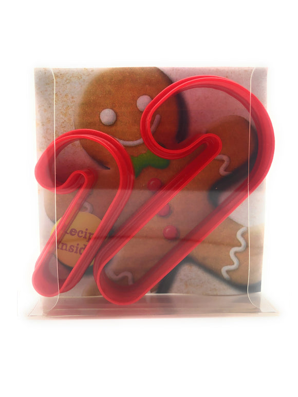 Candy Cane Cookie Cutter Set of 2