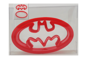 Batman Cookie Cutter Cutter + Oval Set of 1